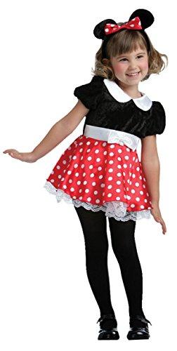 Imagen de disfraz ratita minnie talla 1 2 años