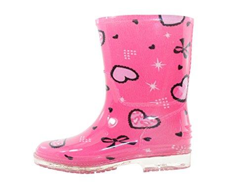Easy USA Girls Rain Boots