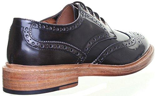Reece Justin Dylan renforcées en cuir GoodYear mat pour chaussures Gris - Grey AG1