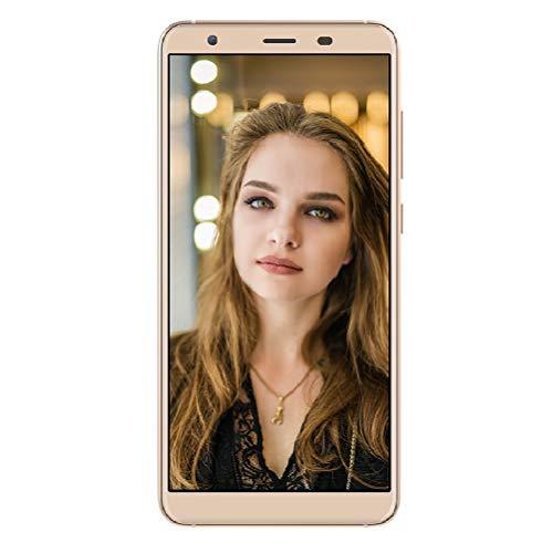 Ulefone S1 Pro 4G Smartphone ohne Vertrag Günstig 5,5 Zoll Dispaly 16GB Spicher, Dual SIM Android 8.1, Dual Kameras 13MP + 8MP, Gold - S1 Handy
