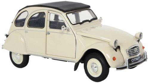 Small foot company - 9332 - Véhicule Miniature - Modèle À L'échelle - Voiture - Citroën 2cv - Echelle 1/24