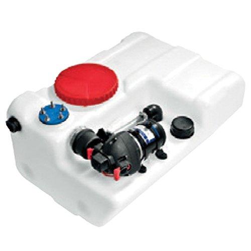 Nuova Rade 60l 80l Wassertank Einbau Tank Bora mit Pumpe 125l/min weiß, Volumen:80 Liter -