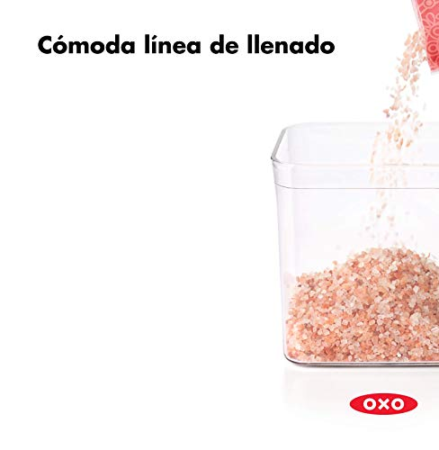OXO Good Grips POP Contenedor Almacenamiento herm/ético y apilable de alimentos 0,6 l para semillas y mucho m/ás