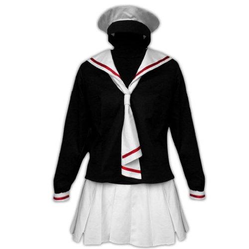 Dream2Reality Cardcaptor Sakura Cosplay Kostuem -Tomoeda Elementary School Winter School Uniform Maedchen Kid Size Small