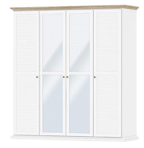 kleiderschrank lamellent ren bestseller shop f r m bel und einrichtungen. Black Bedroom Furniture Sets. Home Design Ideas