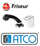 FREE ND Niederdruck Friseur Einhebel Mischbatterie Waschbeckenarmatur Handbrause Friseurarmatur