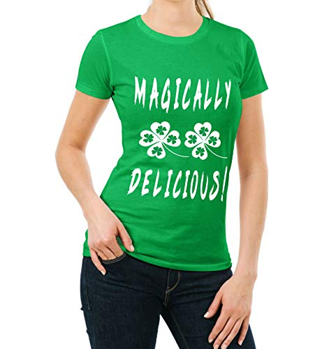 Irish Shamrocked Shirt für Damen, witziges grünes St. Patricks Day - - XX-Large ()