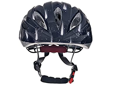 Tuzii Pyxis Meteors In Mould Kids Girls Boys Childs Bike Skate Scooter Safety Adjustable Helmet 53-58cm Dark Blue from Tuzii