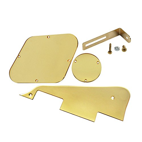 ikn-lp-pickguard-rear-plate-switch-plate-cavity-covers-mit-goldenen-halterung-fur-epiphone-les-paul-