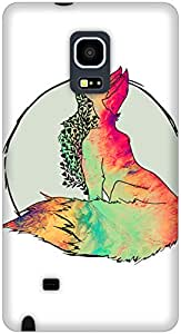 The Racoon Grip Foxy Vixen hard plastic printed back case / cover for Samsung Galaxy Note Edge