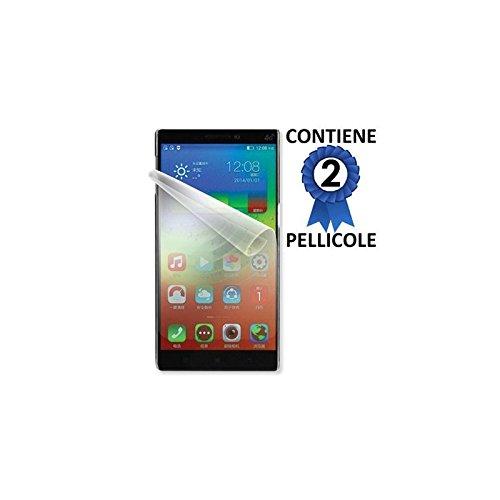 PELLICOLA PROTEGGI DISPLAY per LENOVO VIBE Z2 - 5.5' POLLICI CONFEZIONE 2 PEZZI