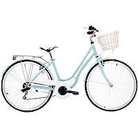 Bici Retro - Bicicleta urbana -Bici de paseo Cloot Marleen Blue Cambio Shimano de 18