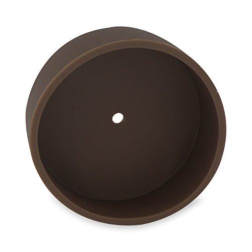 Lampen Baldachin braun - Silikon Abdeckung für Hängelampen