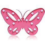 Schmetterling LED Nacht Licht Nacht batteriebetriebene Tisch Lampe Laufschrift LED Nachtlicht Home Dekorationen