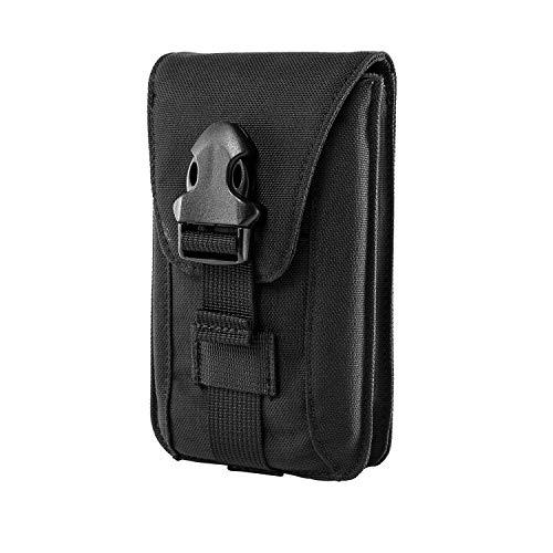 Vertikale Nylon Rucksack (OneTigris Molle Vertikale Handytasche Hüfttasche Outdoor Sports Militärische Gürteltasche für 4,7