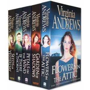 Virginia Andrews Dollanganger Collection 5 Books Set Pack (Garden of Shadows, Petals on the wind, If There be Thorns, Seeds of Yesterday, Flowers in the Attic) (V.C. Andrews Dollanganger Collection)