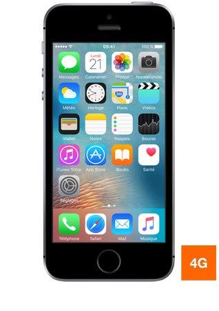 Apple iPhone SE 32 GB SIM-Free Smartphone - Grigio Siderale (Ricondizionato)