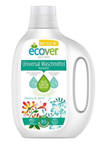 Ecover Universal Waschmittelkonzentrat Hibiskus & Jasmin, 850 ml -