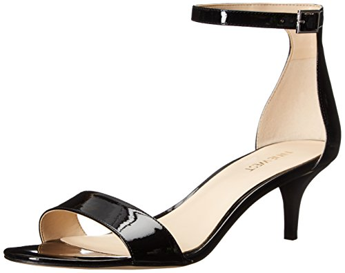 Nine West Leisa sintetico Dress Sandal Black/black