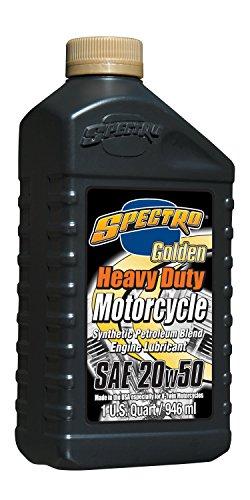 Spectro - Olio Motore HD parzialmente Sintetico SAE 20W-50 per Motori Twin Cam e Evolutio