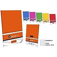 Quaderno A41RALLA 50fogli 60Grs. assortimento colori, MASTERCLASS,–BASICOLORS-, 1UDS.