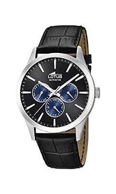 Lotus Watches Reloj Multiesfera para Hombre de Cuarzo con Correa en Cuero 18576/6 de Lotus Watches