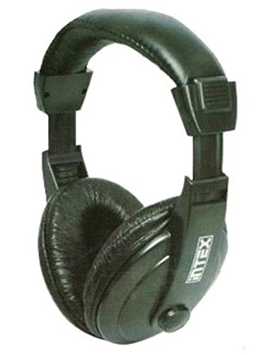 Intex Computer Multimedia Headphone Mega (Black)