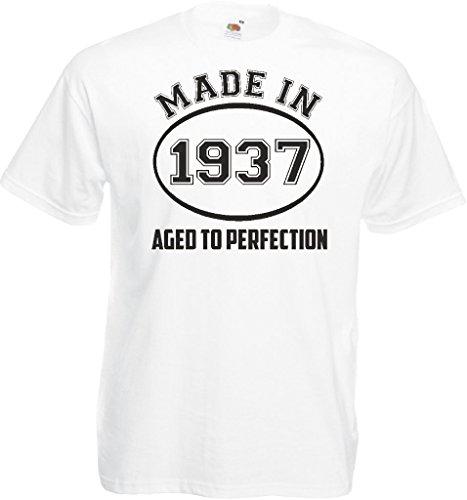 Novelty Gifts Herren T-Shirt, Logo grau asche Weiß
