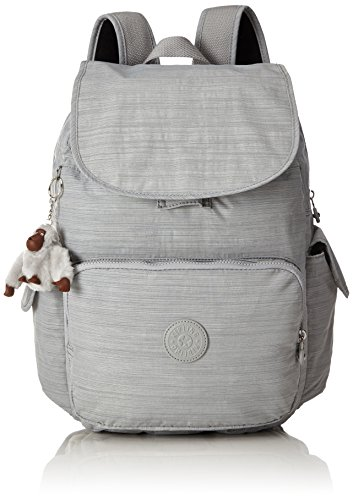 Imagen de kipling city pack l  grande, 24 litros, color dazz grey gris  alternativa