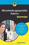 Mitarbeitergespräche führen für Dummies - Josef Zintl, Dörthe Dehe, Judith Junk, Theresa Kopp, Clemens Schlich, Nicoletta Schoeller