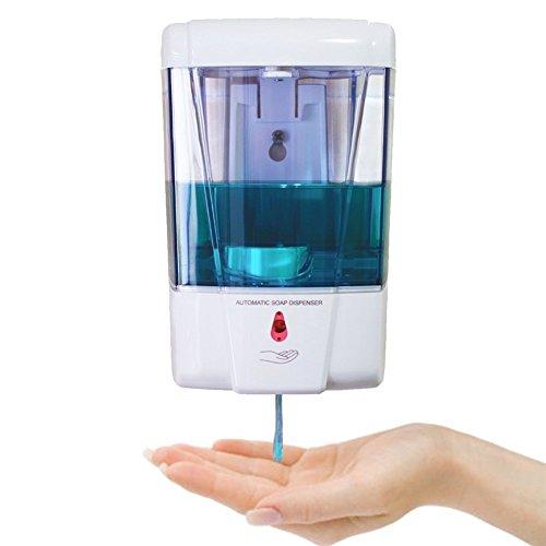 StillCool Dispenser di sapone automatico Pompa di sapone a sapone liquido a dispersione da sapone per sapone liquido a pompa - 600ml