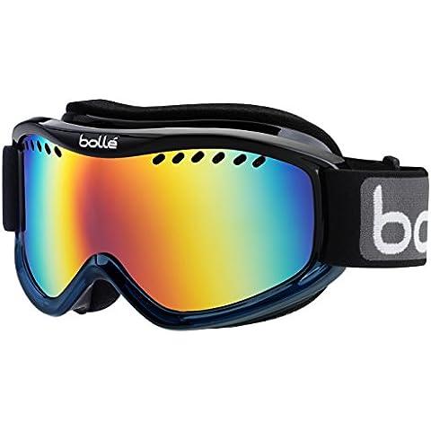 Bollé Goggles Carve - Gafas de esquí, color negro / azul, talla Medium (39-41