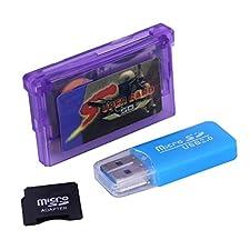 SODIAL Per GameBoy Advance Cartuccia del gioco di carte da gioco Per GBA SP Lettore di schede multi-giochi