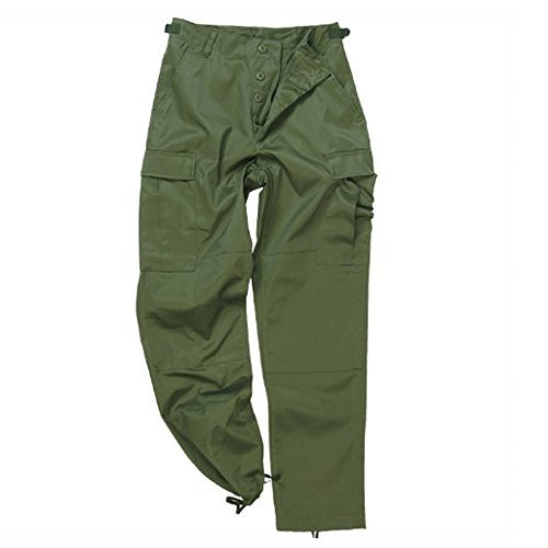 Army Military Pants (US Ranger Hose Typ BDU oliv Gr.XS)