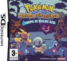 Pokemon Mundo Misterioso Equipo de rescate Azul
