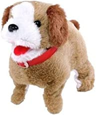ZZ ZONEX Soft Toy Fantastic Puppy Battery Operated Back Flip Jumping Dog Jump Run Toy Kid