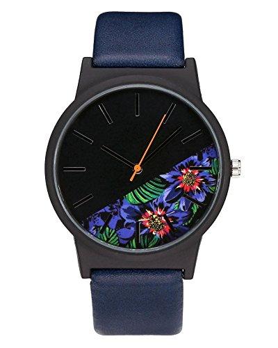 Jolie montre noir turquoise