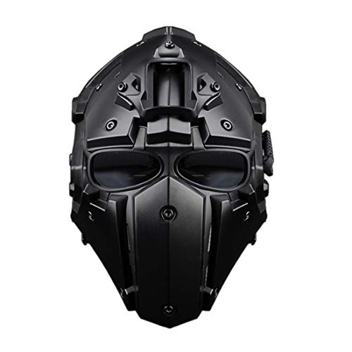 Tosbess WST Schutzhelm Sturzhelm für Airsoft Paintball Jagd Freizeit Militär Unisex Outdoor Integrated Tactical Helm