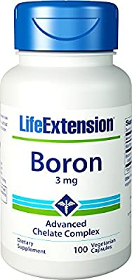 Life Extension Boron (3mg, 100 Vegetarian Capsules) from Life Extension