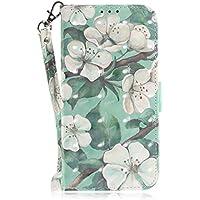 Lederhülle für Huawei P20, Kucosy Huawei P20 3D Gemaltes Muster Schutzhülle Premium PU Leder Flip Case Etui Brieftasche... preisvergleich bei billige-tabletten.eu