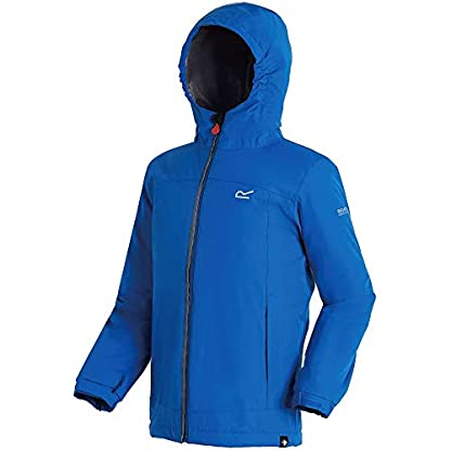 Regatta Children's Hurdle Ii Waterproof Insulated Hooded Jacket 4