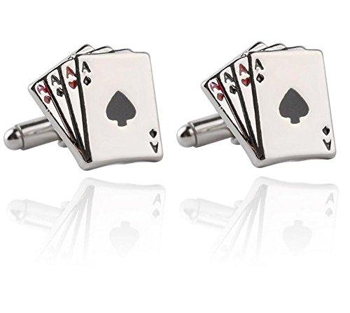 lumanuby 1/par de los hombres gemelos elefante Puzzle gemelos gemelos camisa gemelos ropa broches personalidad hombres Regalos