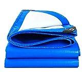 ARNCEE schweren tarp plane dick 3m x 4m 9ft x13ft (3 x 4 m), pe plane wasserdicht blauen segeltuch blatt premium qualität auf plane für outdoor camping