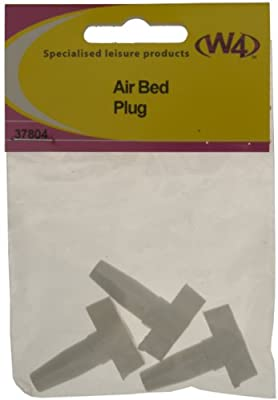 W4 Airbed Plug - White, 3 Pack produced by W4 - quick delivery from UK.