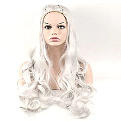 Morningsilkwig Braided Long Synthetic Hair Wigs 70cm Length Cosplay Song of ice and fire Women Wigs