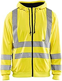 Blaklader High-Visibility Hooded Sweatshirt XXXL