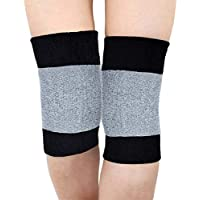 KING OF FLASH Knee Leg Warmers Thermal Sleeves Pads Arthritis Tendonitis Dance Protection Muscle Joint Care Breathable Soft Kneelet One Size Unisex Elastic Stretch Guard (1 Pair)