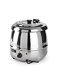 Hendi 860304 Soup Station Complete Stainless Steel 8 L, Steel, Silver, 34 x 34 x 36 cm (B00509XT2W) | Amazon price tracker / tracking, Amazon price history charts, Amazon price watches, Amazon price drop alerts