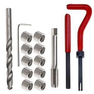 15 stücke M9 x 1.25 Gewinde Reparatureinsatz Kit 1cm Länge Handwerkzeug