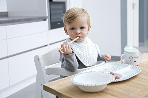 Lässig Kindergeschirr mit Silikonboden - 9